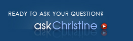 Ready to ask Christine
